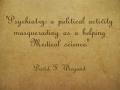 Psychiatry-a-political
