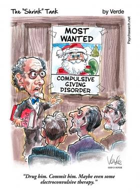 COMPULSIVE GIVING DISORDER