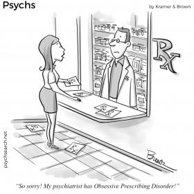 Obsessive Prescribing Disorder