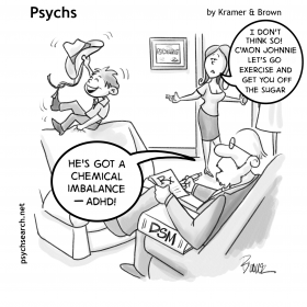 ADHD - SUGAR- EXERCISE
