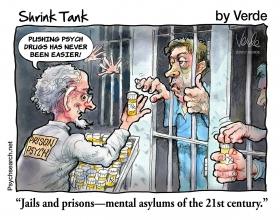 JAILS & PRISONS - 21ST CENTURY MENTAL ASYLUMS