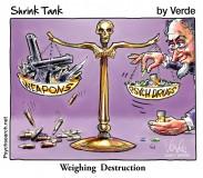 WEIGHING DESTRUCTION