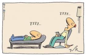 Psychiatrist slept