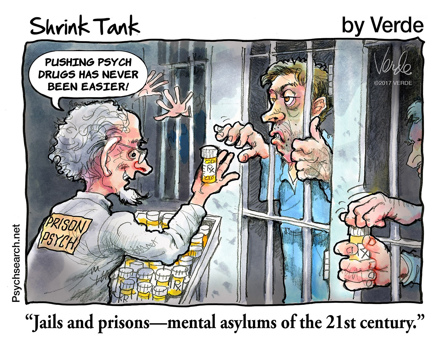 JAILS & PRISONS - 21ST CENTURY MENTAL ASYLUMS