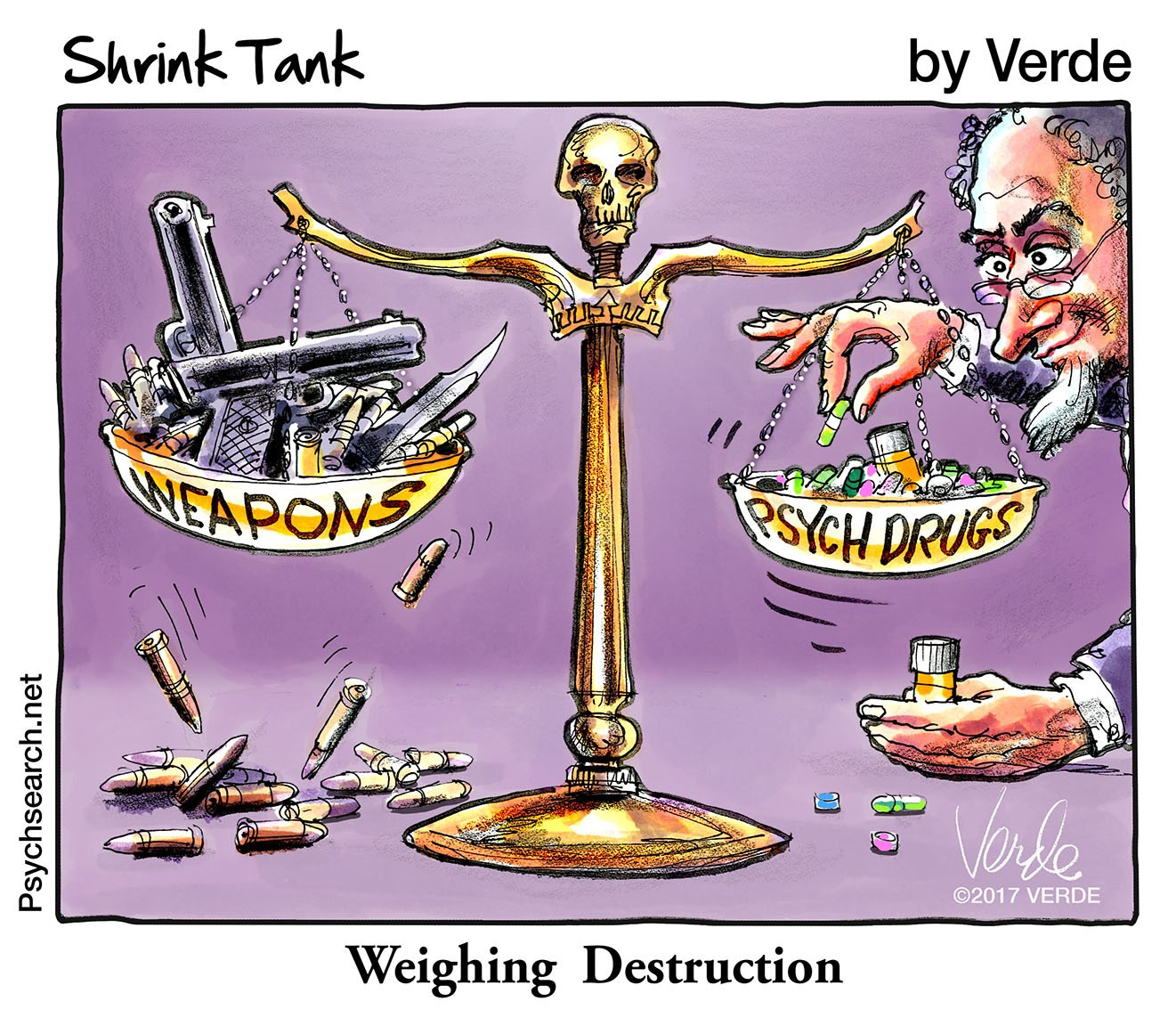 WEIGHING DESTRUCTION