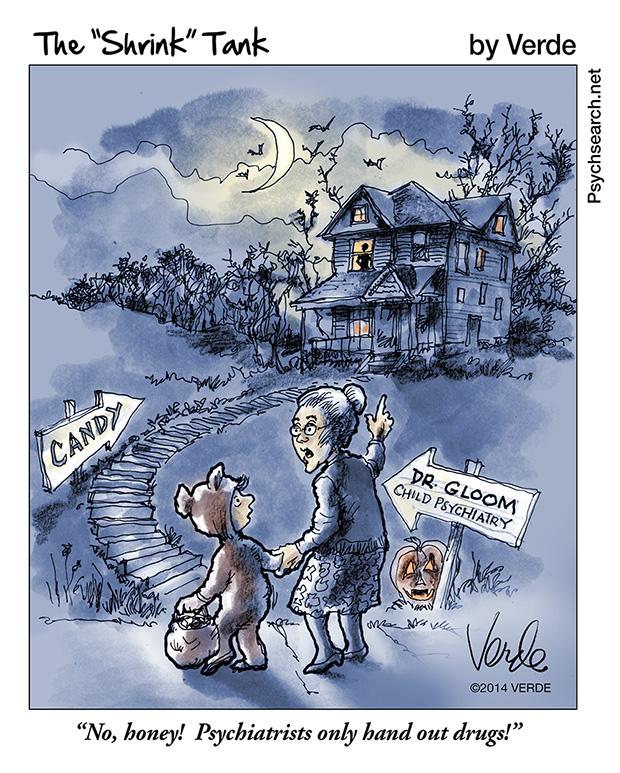 Halloween-Psychiatrist-PsychSearch.net-Verde